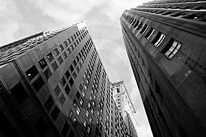 Manhattan Offices Stock Images - Image: 8206464
