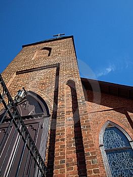 Epic Church Royalty Free Stock Photo - Image: 8206585