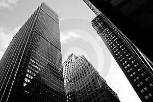 Manhattan Offices Stock Photo - Image: 8206970