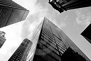 Manhattan Offices Stock Images - Image: 8207004