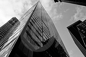 Manhattan Offices Royalty Free Stock Photo - Image: 8207035