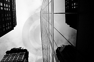 Manhattan Offices Stock Photography - Image: 8207062