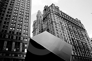 Manhattan Offices Royalty Free Stock Images - Image: 8207109