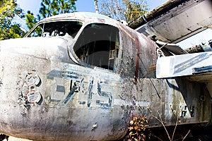 Old War Plane Nostalgia Royalty Free Stock Image - Image: 8208286