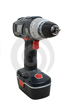 Cordless Screwdriver Stock Images - Image: 8208564