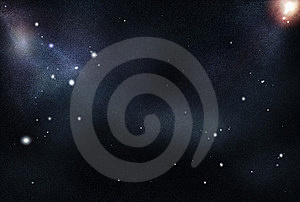 Digital Created Starfield Royalty Free Stock Photo - Image: 8208755