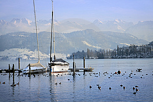 Quai Of Lucerne Stock Photo - Image: 8208810