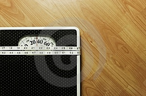 Weight scale 8 Stock Photo