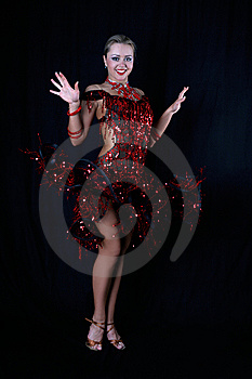 Latin Dancer Royalty Free Stock Photos - Image: 8209468