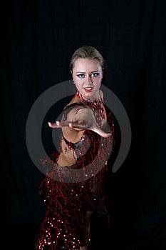 Latin Dancer Stock Image - Image: 8209781