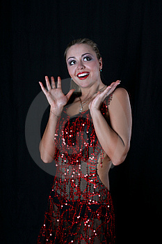 Latin Dancer Stock Photo - Image: 8209860