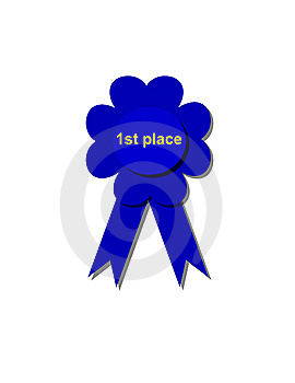 1st Place Ribbon Stock Images - Image: 8209954