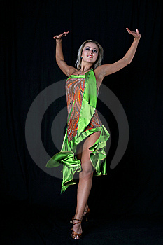 Latin Dancer Stock Images - Image: 8210074