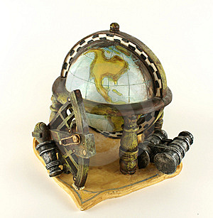 Globe01 Royalty Free Stock Photos - Image: 8210538