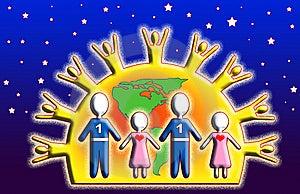 Children One Love Stock Photos - Image: 8211213