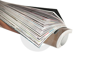 Wrapped Magazine Stock Images - Image: 8211214