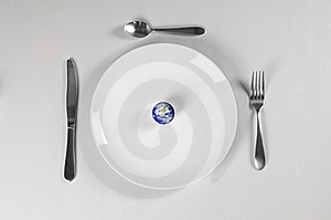 Starving Planet Stock Image - Image: 8211221