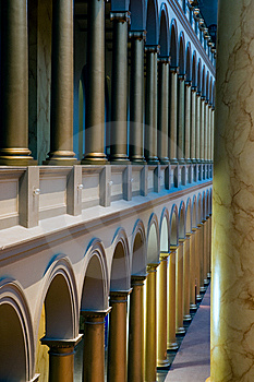 Columns And Arches Royalty Free Stock Photography - Image: 8211457