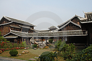 Chinese House Royalty Free Stock Photography - Image: 8213117