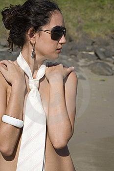 Tie At The Beach Stock Photos - Image: 8213303