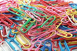 Paper Clips Stock Images - Image: 8214794