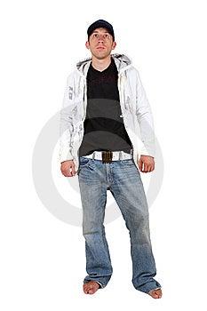 Young Man, Hip-hop Royalty Free Stock Image - Image: 8215296