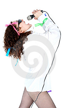 Singer Royalty Free Stock Images - Image: 8215369