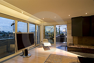 Contemporary Loft Royalty Free Stock Images - Image: 8217169