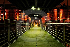 Foot Bridge Stock Images - Image: 8217314