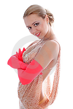 Latin Dancer Royalty Free Stock Photography - Image: 8218177