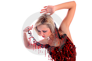 Latin Dancer Royalty Free Stock Image - Image: 8218466