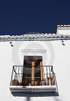 Balcony ( Spain ) Royalty Free Stock Photo - Image: 8218645