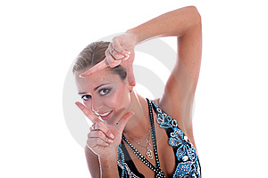 Latin Dancer Royalty Free Stock Photography - Image: 8219127