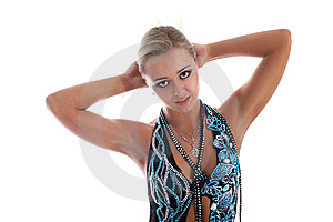 Latin Dancer Royalty Free Stock Images - Image: 8219299