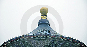 Chinese Roof Royalty Free Stock Photos - Image: 8221118