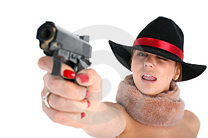 Gun Royalty Free Stock Images - Image: 8221719