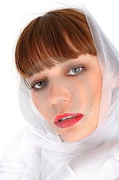 Girl In Kerchief Stock Photos - Image: 8221923