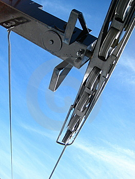 Chairlift Tower Stock Photo - Image: 8222530