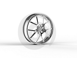 Car Alloy Rim Stock Image - Image: 8224891