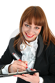 Business Woman Stock Image - Image: 8224941