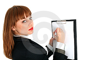 Business Woman Stock Photography - Image: 8224982
