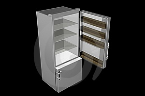 Refrigerator Royalty Free Stock Image - Image: 8225326