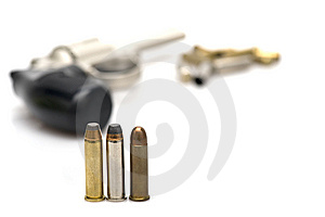 Bullets And Gun Stock Photo - Image: 8226610