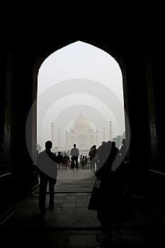 Taj Mahal Agra India Royalty Free Stock Photo - Image: 8226965