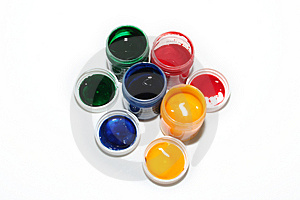 Paints Stock Photos - Image: 8227513