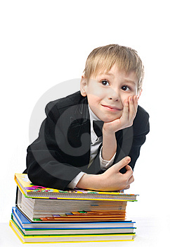 Bored Schoolboy Stock Photos - Image: 8228343
