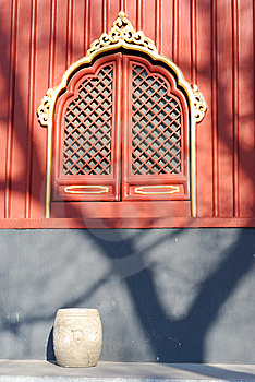 A Corner In The Lama Temple Royalty Free Stock Image - Image: 8228586