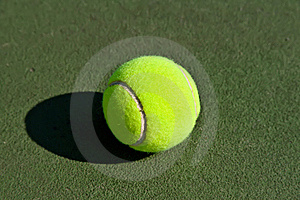 Yellow Tennis Ball Royalty Free Stock Image - Image: 8228696