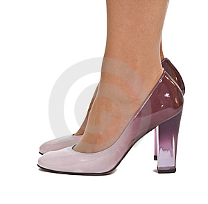 Elegant Woman's Shoes Royalty Free Stock Images - Image: 8229089