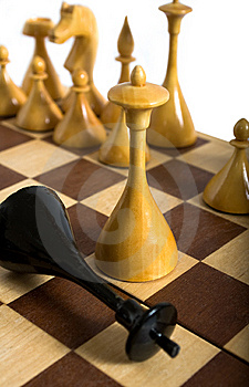 Defeat In Chess, Checkmate Stock Images - Image: 8229914